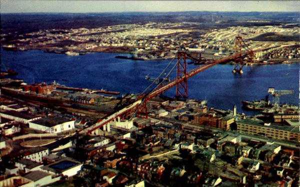Angus L. Macdonald Bridge Nova Scotia
