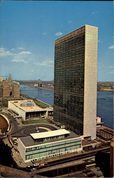 United Nations Nations Unies New York City