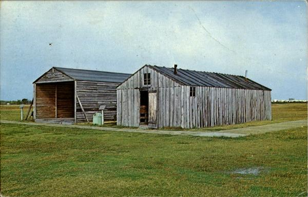 Wright Brothers 1903 Camp Buildings North Carolina