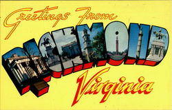 Greetings From Richmond Postcard