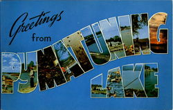 Greetings From Pymatuning Lake Postcard