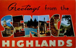 Greetings From The Seneca Highlands Postcard