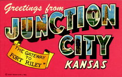 Greetings From Junction City Postcard