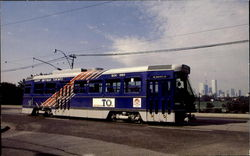 TTS Light Rail Vehicle No. 4002