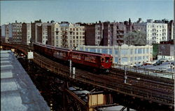 Interborough Rapid Transit Postcard