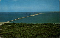 Aerial View Of The New Bridge And Causeway
