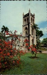 St. Paul's Anglican Episcopal Church Frederiksted Postcard