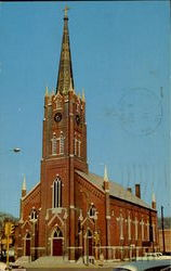 St. Paul Lutheran Church, 9th And Franklin Streets Postcard