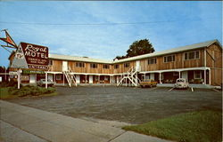 Royal Motel, 115 Woodstock Ave Postcard