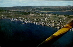Aerial View Of Bay Roberts
