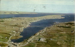 Aerial View Of Bay Roberts And Coley's Point