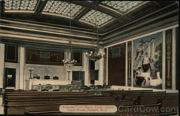 Supreme Court Room, Essex County Court House Newark New Jersey