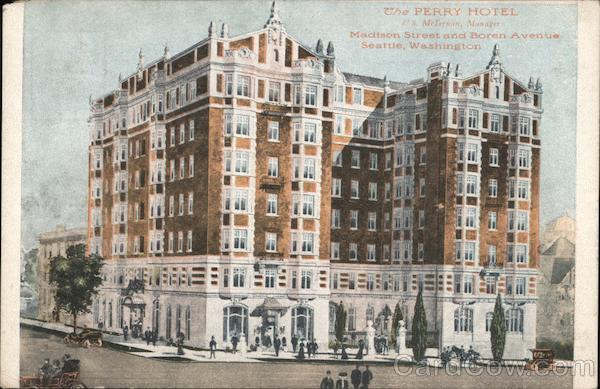 The Perry Hotel - Madison Street and Boren Avenue Seattle Washington