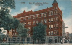 Gem City Business College Postcard