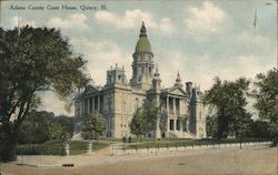 Adams County Court House Postcard