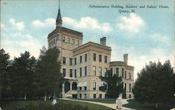 Administration Building Soldiers' and Sailors' Home Postcard