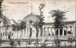 Peristyle - Washington Park Postcard