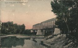 Skunk River Postcard