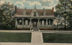 Sidney Lanier's Birthplace Postcard