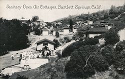 Sanitary Open Air Cottages Postcard