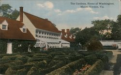 The Garden Home of Washington Postcard