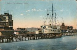 Showing Cabrillo Venice, CA Postcard
