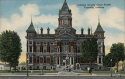 Johnson County Court House Postcard