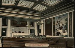 Supreme Court Room, Essex County Court House Postcard