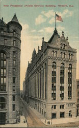 New Prudential (Public Service) Building Postcard