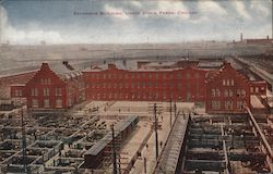 Exchange Building, Union Stock Yards Postcard