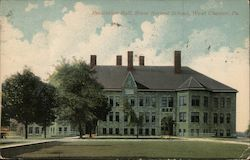 Recitation hall, State Normal School Postcard
