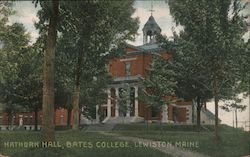 Hathorn Hall, Bates College Postcard