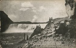 Great Falls of the Missouri near Postcard