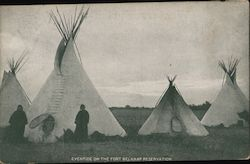Eventide on the Fort Belknap Reservation Postcard