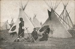 Boy Chief Heap Hungry Fort Belknap Reservation Postcard