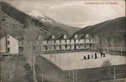 Chico Hot Springs Hotel Postcard