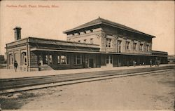 Northern Pacific Depot Postcard