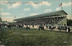 Grand Stand, Maine State Fair Grounds Postcard