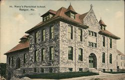 St. Mary's Parochial School Postcard