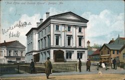 """Post Office and Custom House"" Postcard"