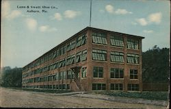 Lunn & Swett Shoe Co Postcard