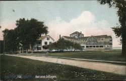 Spearhawk Hall and Cottages Postcard