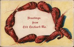Greetings from Old Orchard ME Crayfish Border