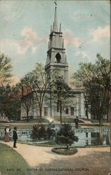 Winter St. Congregational Church Postcard