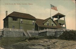 Club House, Mt. Battle Postcard