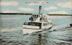 "Steamer ""Virginia"" Postcard"