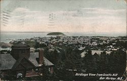 Birdseye View From Scotts Hill Postcard