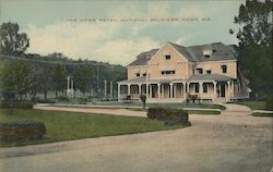 The Home Hotel, National Soldiers' Home Postcard