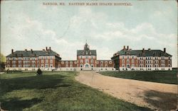 Eastern Maine Insane Hospital Postcard