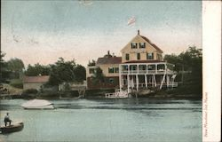 New Meadows Inn Postcard